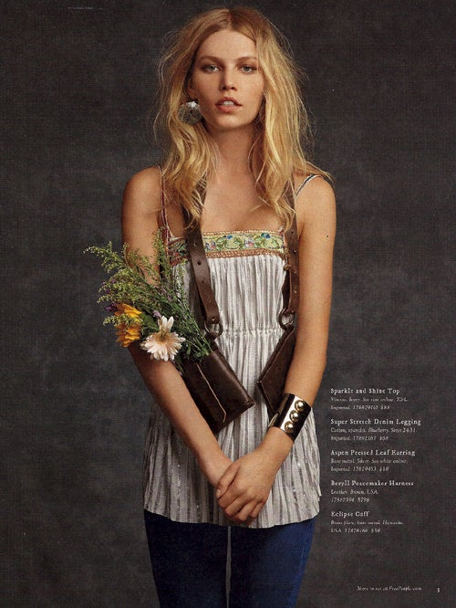 February At Free People: Faux Flower Child Fashion Costs A Pretty Penny