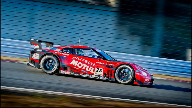 Your ridiculously cool Motul Autech GT-R GT500 wallpaper is here