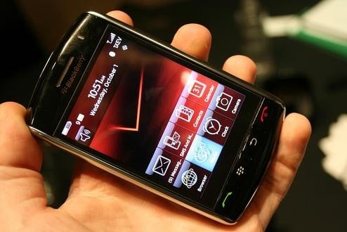 Verizon BlackBerry Storm Officially $199 on Nov. 21