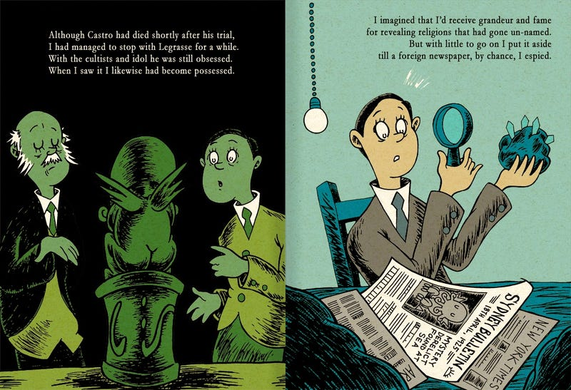 What if Dr. Seuss wrote The Call of Cthulhu? (UPDATED)