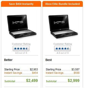 Dell Offering XBox 360 Elite Bundle With XPS M1730 Laptop Build