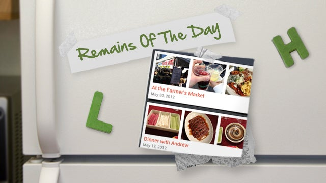 Remains of the Day: Evernote Food Brings Meal Planning to Android