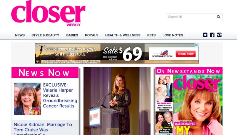 Closer: The New Magazine for Moms Who Hate the Kardashians