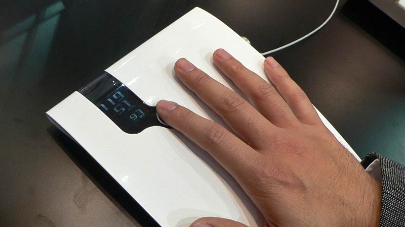 Fingertip Blood Pressure Monitor Does Away With All That Squeezing