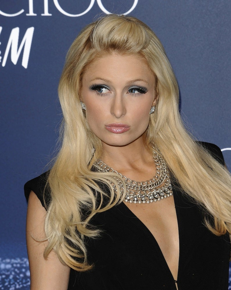 Paris Hilton Will Not Tolerate Any Art Garfunkel-Like Presences In Her Life, And Neither Will You