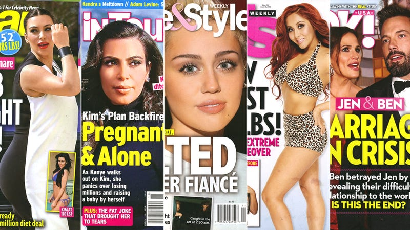 This Week in Tabloids: Kim Kardashian's Famous Ass Is Now a 'Sagging, Dimply Blob'