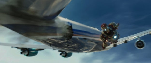 Iron Man 3 Super Bowl Ad Stills
