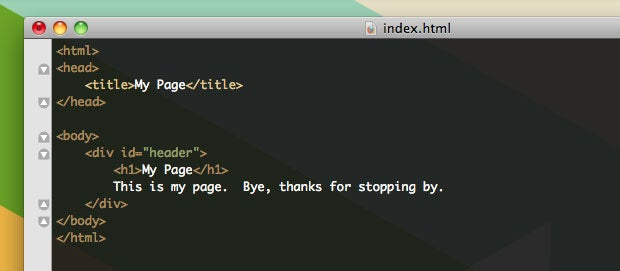 How to Make a Web Site Part I: Understanding and Writing HTML