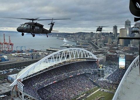 Seattle vs. Washington: First Half