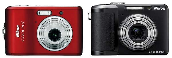 Pick Yer Low-Frill Nikon CoolPix Cam: $130 L18 or $230 P60