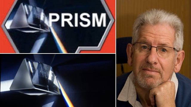 A British Television Host Took the Photo Used in the NSA PRISM Logo