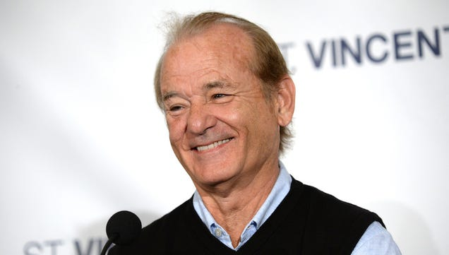 Bill Murray Gets Free Shit Just for Acknowledging People