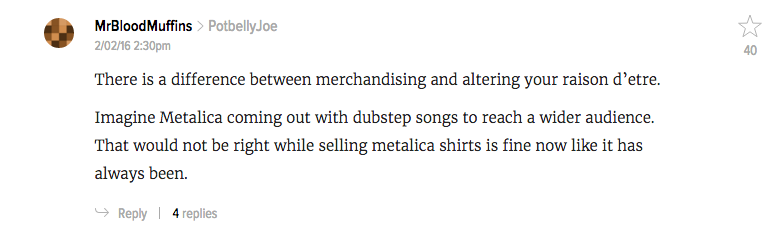 Comment Of The Day: The Brilliance Of Merchandising Edition