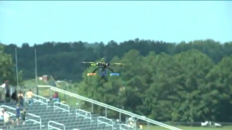 Mysterious Drone Crashes, Injures Spectators At Virginia Race
