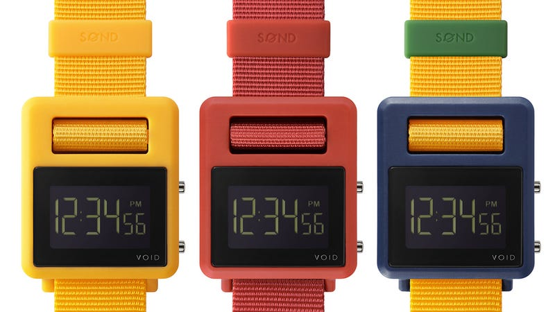 The Clasp On This Colorful Watch Is Built Right Into the Face