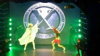 And now, Drag Queen Storm vs. Drag Queen Dark Phoenix