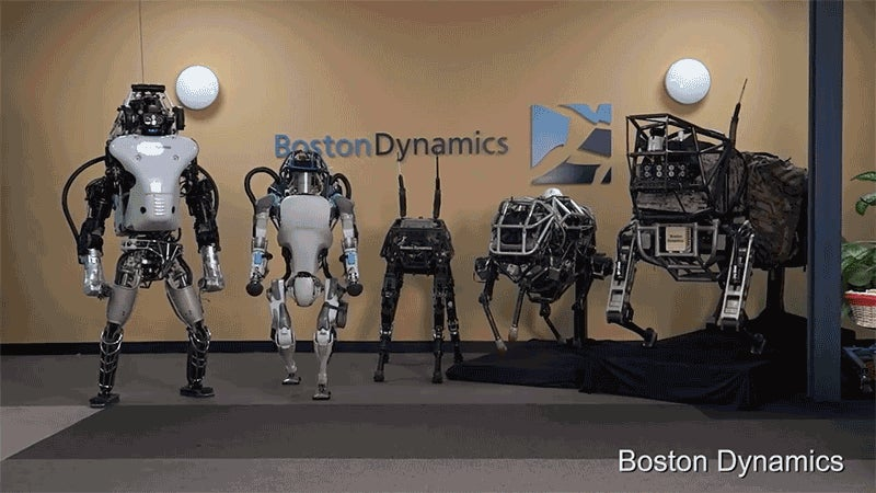 Atlas The Robot Can Enlist in the US Military Anytime She Wants