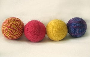 Make an All Natural Dryer Ball from Yarn