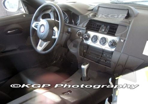 2010 BMW Z4 Interior Makes A Sneak Appearance