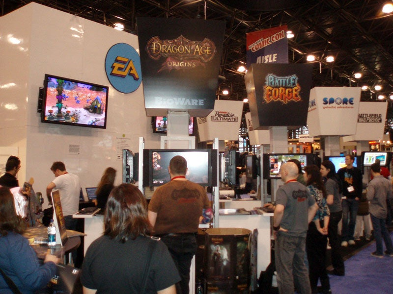 A Look At The Gaming Booths From Comic-Con
