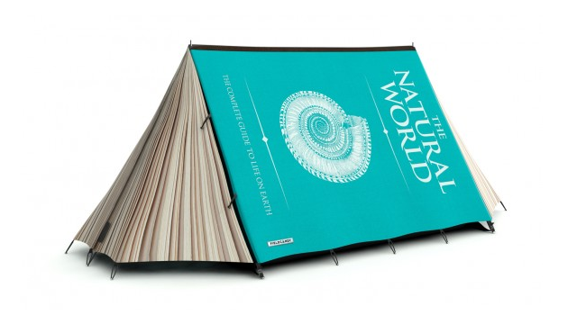 Now You Can Sleep Inside a Giant Book