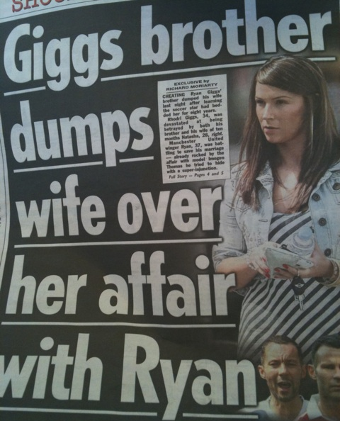 Well, The Ryan Giggs Affair Just Turned Really Fucking Weird