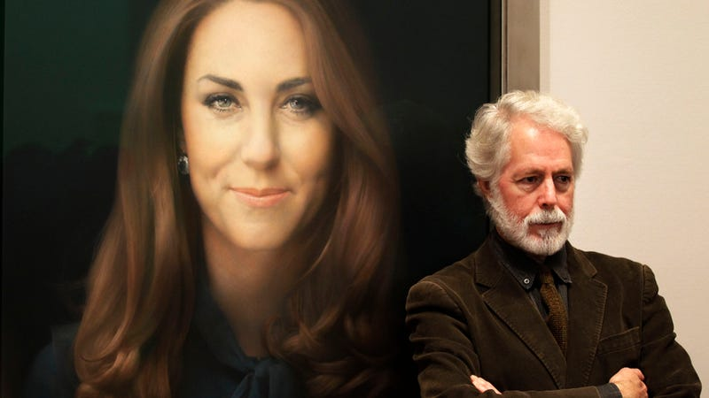 Guy Who Painted God-Awful Kate Middleton Portrait Also Did a Good Version He Won't Let Anyone Photograph