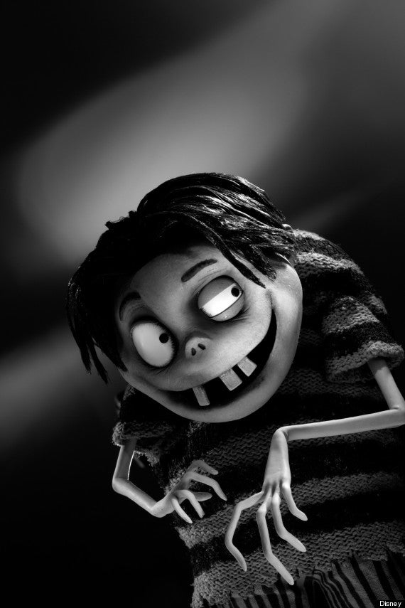Frankenweenie Character Posters