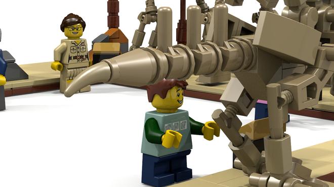Lego Dinosaur Fossil Museum