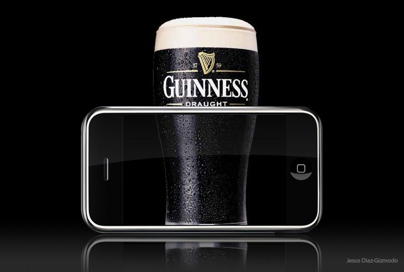iPhone In Ireland and Austria Gives Us Excuse to Talk Beer