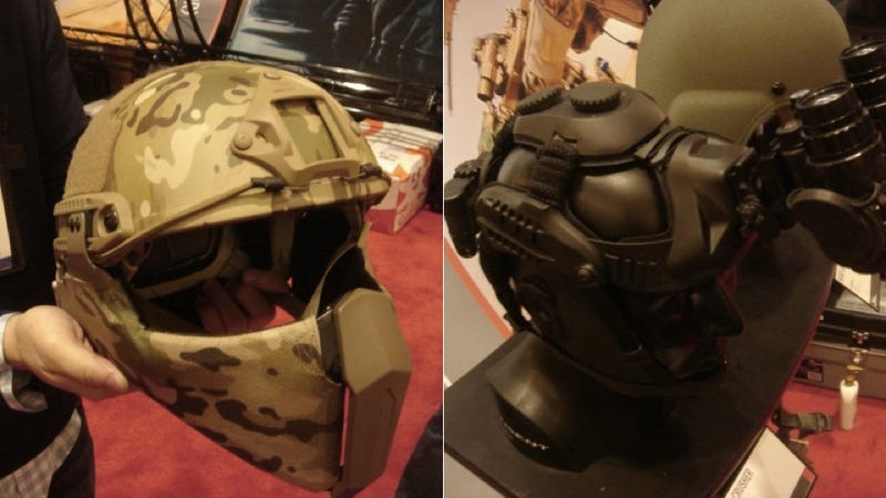 The Newest Special Forces Helmets Are Terrifyingly Cool