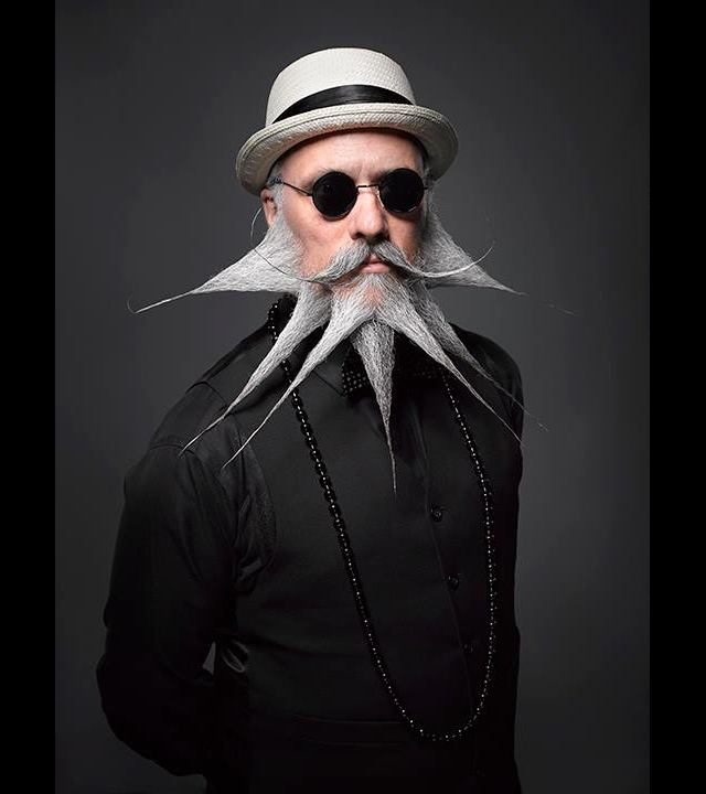 The most inventive beards and mustaches you will ever see