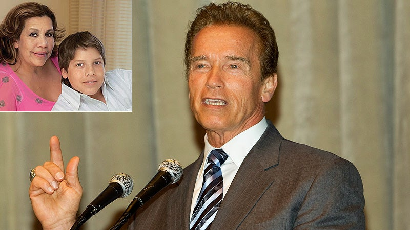 Arnold's Baby Mama Speaks: I Love and Respect Maria