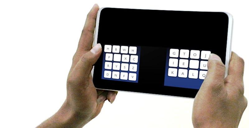 Un nuevo teclado te permitirá escribir como un rayo en una tableta