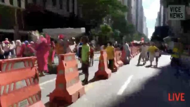 Élő videó a riói vébéellenes tüntetésről
