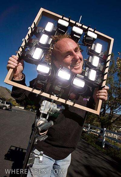 Twelve-Strobe Camera Rig Smites the Sun, Shoots at 1/8000 Seconds