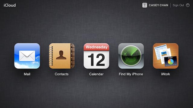 iCloud Is Live-ish