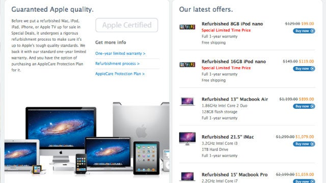 Why You Should Choose Refurbished If You're Buying Apple Products