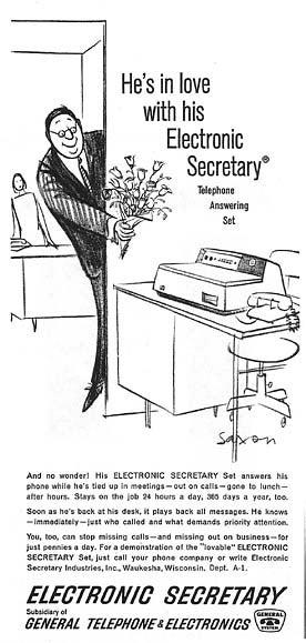 Do Bosses Dream of Electronic Secretaries?