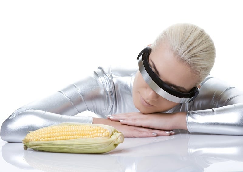 I Can't Stop Staring at Cyber Woman With Corn