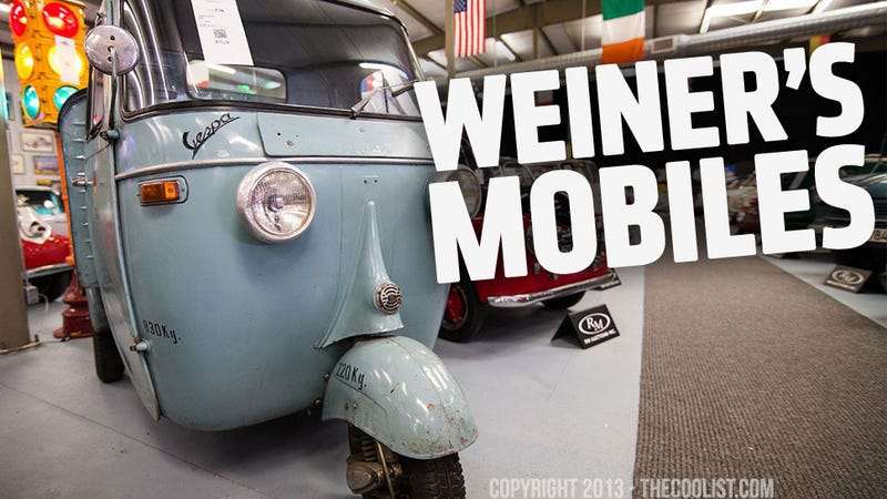 Look At These Lovely And A Bit Sad Pictures Of The Universe's Largest Microcar Auction