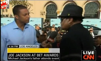 Joe Jackson Uses BET Awards Red Carpet To Promote His Own Record Company