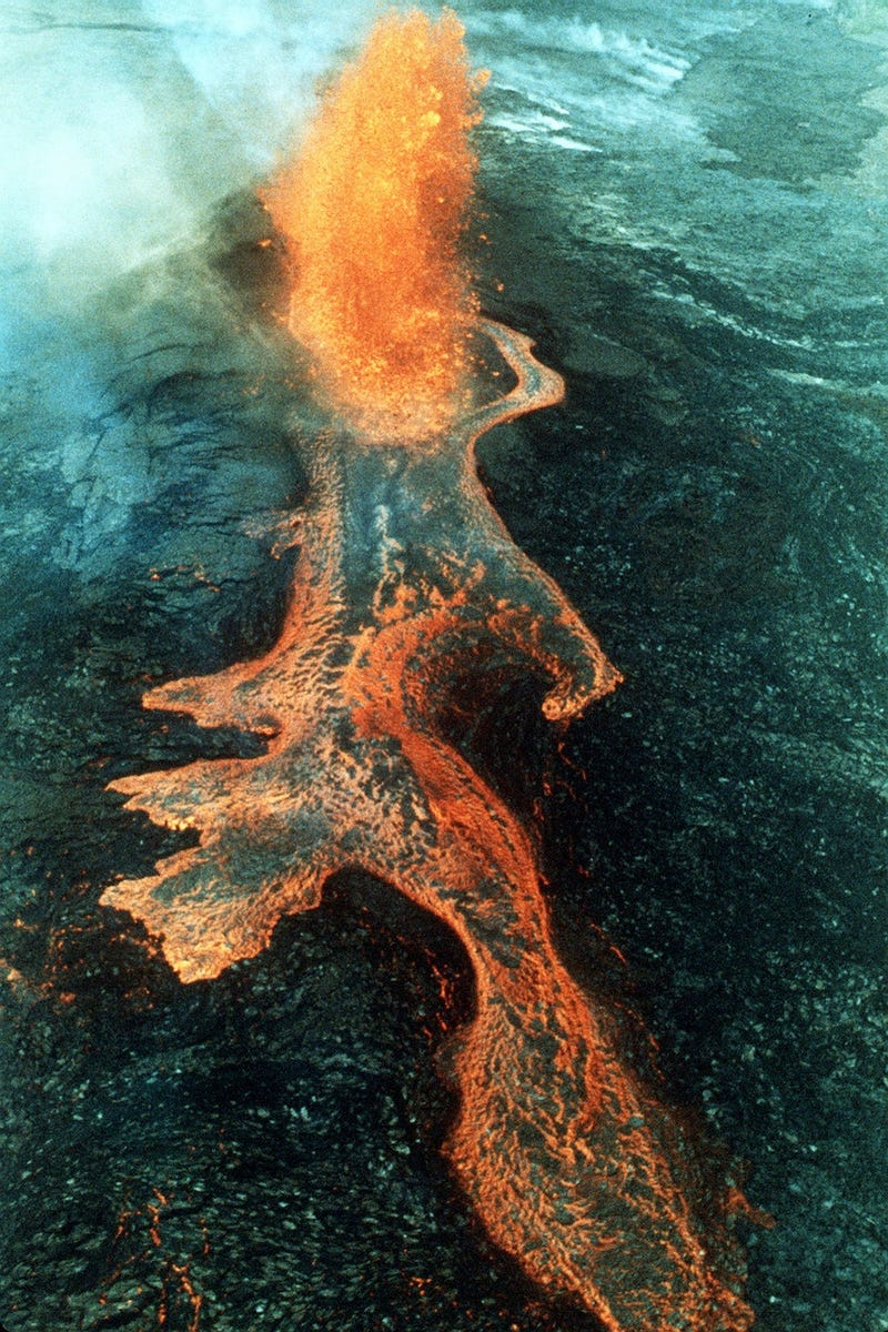 The Terrible Beauty of Volcanic Eruptions and Lava Flows