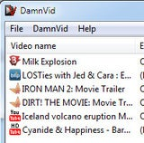 DamnVid Encodes Movies While Downloading for Speedy Conversion