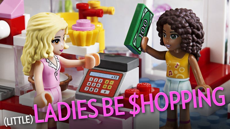 Girly Lego Sucks, But It's Selling Like Hotcakes