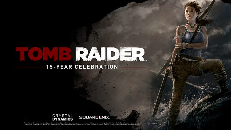 Celebrate 15 Years of Tomb Raider with Eight Pieces of Battered Lara Croft
