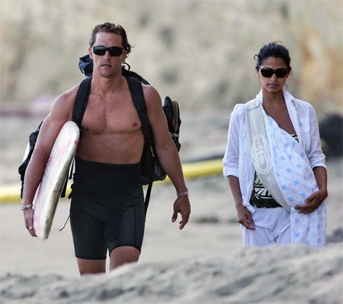 New Dad Matthew McConaughey: The Milk Has Come In