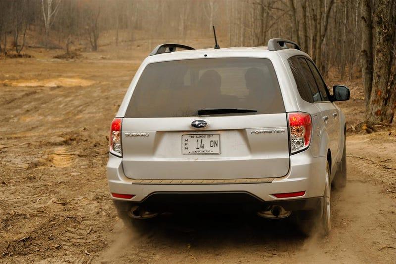 2009 Subaru Forester: Unsupervised Off-Road Mayhem