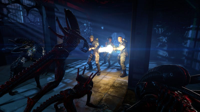 Aliens: Colonial Marines, a 'True Sequel to James Cameron's classic Aliens,' Out in 2012