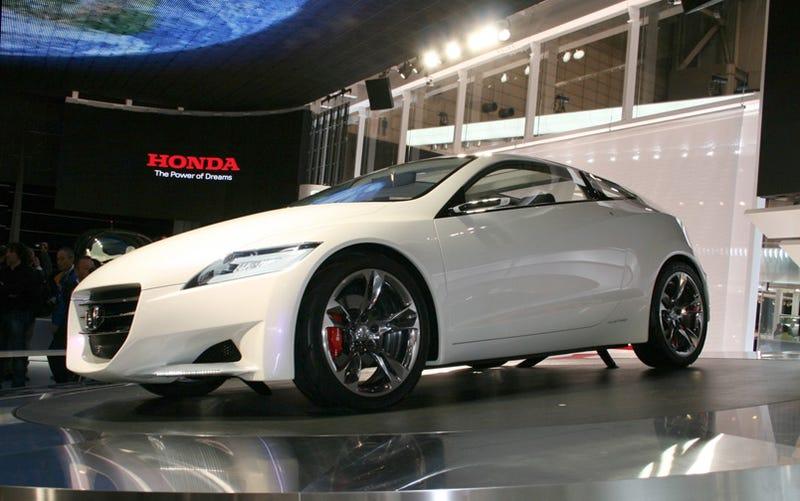 Honda CR-Z Coming To America In 2010